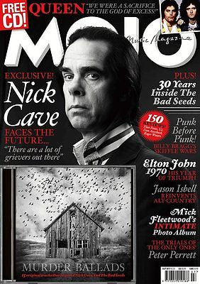 MOJO magazine July 2017 - Nick Cave Brian May Elton John Mick Fleetwood Queen