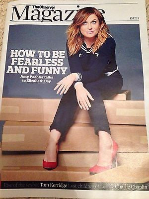 Sisters AMY POEHLER PHOTO INTERVIEW UK OBSERVER MAGAZINE DECEMBER 2015