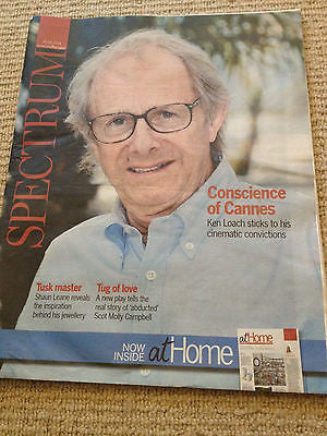 Jimmy's Hall KEN LOACH PHOTO COVER INTERVIEW MAGAZINE may 2014