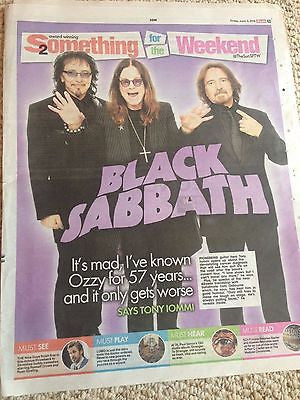 Tony Iommi Black Sabbath UK Exclusive Interview June 3 2016 Russell Crowe