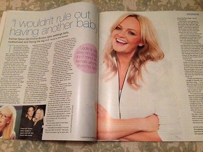 EMMA BUNTON Spice Girls KATIE DERHAM NAGA MUNCHETTY S Magazine July 2015 NEW