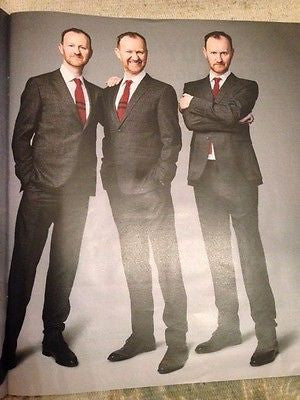 Sherlock MARK GATISS PHOTO INTERVIEW TIMES MAGAZINE JULY 2015