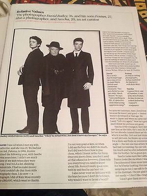 DAVID BAILEY interview FENTON UK 1 DAY ISSUE 2014 GRAYSON PERRY