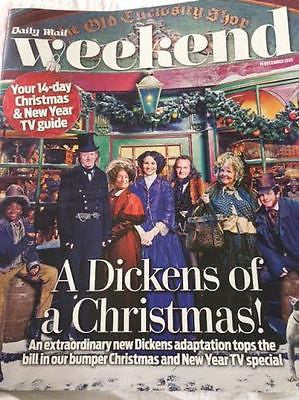 WEEKEND Magazine 12/2015 DICKENSIAN Pauline Collins BENEDICT CUMBERBATCH