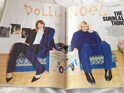 MIGHTY BOOSH Noel Fielding Dolly Wells Photo Cover interview ES Magazine 2014