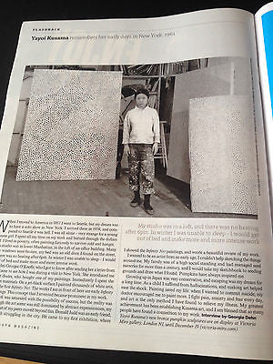 NEW TELEGRAPH Magazine October 2014 OTHILIA SIMON NICK HORNBY YAYOI KUSAMA