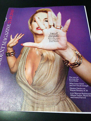 INDEPENDENT MAGAZINE OCTOBER 2015 RITA ORA PHOTO INTERVIEW NICK KNIGHT