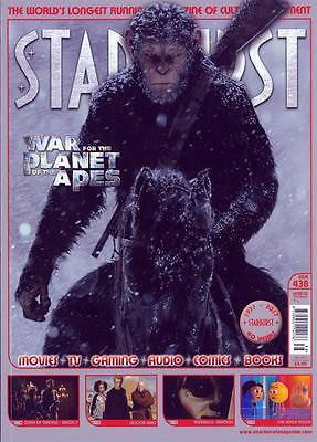 Starburst Magazine July 2017 #438 War For The Planet Of the Apes Cover