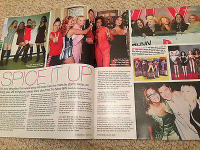 S EXPRESS MAGAZINE JULY 2016 PHILIP GLENISTER THE SPICE GIRLS AMANDA CLAPHAM