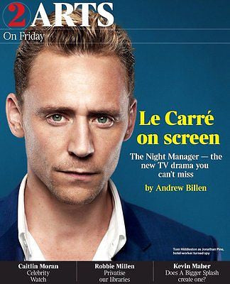 The Night Manager TOM HIDDLESTON Photo Cover Times Supplement Feb 12 2016 NEW