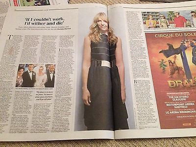 TONI COLLETTE interview RONNIE SPECTOR (PHIL) UK 1 DAY ISSUE 2014 BRAND NEW