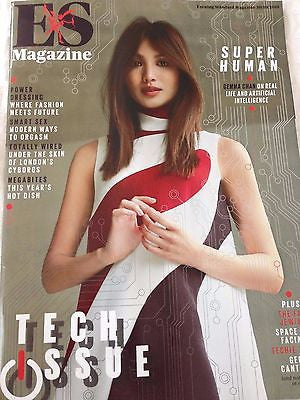 (UK) ES MAGAZINE OCTOBER 2015 GEMMA CHAN PHOTO COVER INTERVIEW HUMANS HOTTIE
