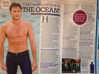 SCOTT EASTWOOD interview CLINT UK 1 DAY ISSUE 2015