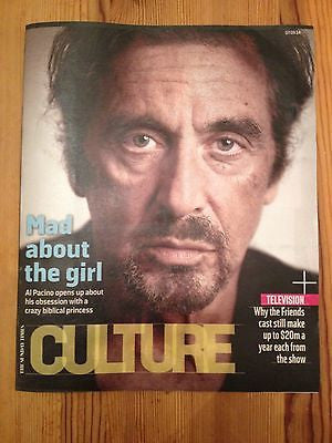 CULTURE MAGAZINE SEPTEMBER 2014 AL PACINO SLASH VELVET REVOLVER RYAN ADAMS