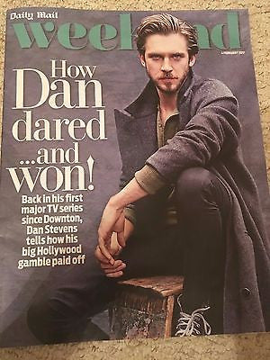 Weekend Magazine February 2017 Downton Abbey Dan Stevens interview