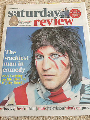 Mighty Boosh NOEL FIELDING PHOTO COVER INTERVIEW OCTOBER 24 2015 JOHN LE CARRE
