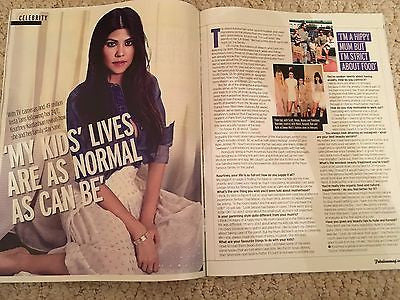Daisy Lowe - Kourtney Kardashian - Tom Odell UK Fabulous Magazine November 2016