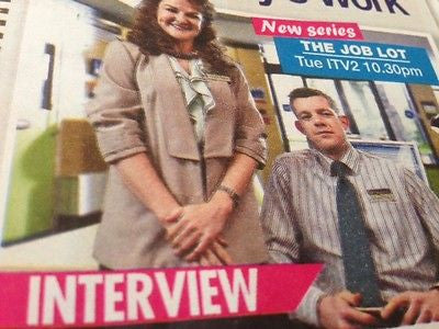 WE LOVE TV MAGAZINE OCTOBER 2015 NICOLA WALKER RUSSELL TOVEY ANNE-MARIE DUFF