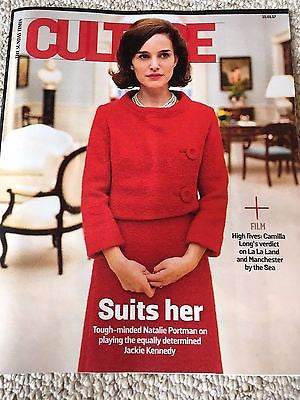 UK Culture Magazine January 2017 Natalie Portman Jackie Kennedy Alessandra Ferri