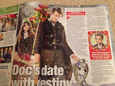 WLT magazine XMAS 2013 Miranda Hart Matt Smith Jenna Louise Coleman Ant & Dec