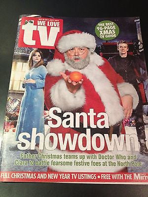 Doctor Who PETER CAPALDI PHOTO COVER MAGAZINE DECEMBER 2014 MARC WARREN JACOBI