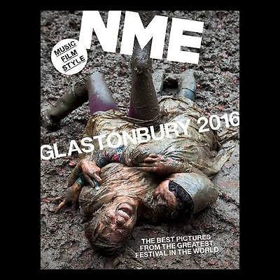 GLASTONBURY 2016 - THE 1975 - ALEX TURNER UK NME MAGAZINE 1 July 2016 NEW
