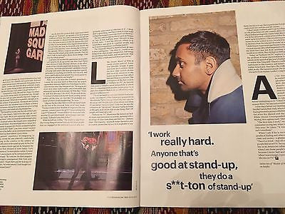 UK FT Weekend Magazine May 2017 Master Of None Aziz Ansari Interview Ryan Giggs