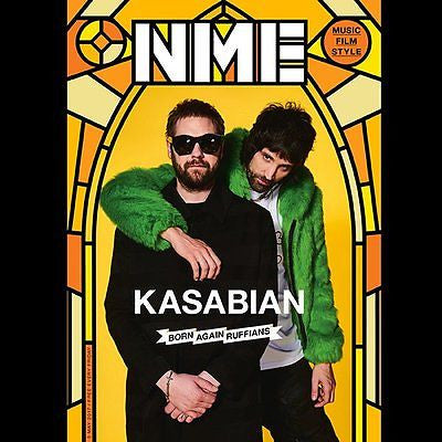 KASABIAN Photo Cover interview UK NME MAGAZINE May 2017