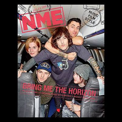BRING ME THE HORIZON PHOTO COVER INTERVIEW UK NME MAGAZINE July 2016 NEW