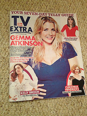 GEMMA ATKINSON PHOTO COVER INTERVIEW 2015 MATT TEBBUTT KELLY BROOK AIDAN TURNER