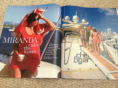 YOU MAGAZINE JULY 2015 MIRANDA HART PHOTO INTERVIEW NAN KEMPNER MOLLIE KING