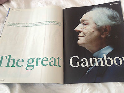 Downton Abbey LAURA CARMICHAEL PHOTO INTERVIEW SUNDAY TIMES 2015 MICHAEL GAMBON