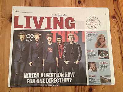 INDEPENDENT LIVING NOVEMBER 2014 ONE DIRECTION KATHERINE JENKINS BRIAN GLEESON