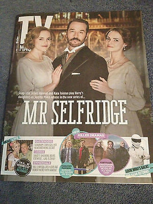 TV Magazine 2015 JEREMY PIVEN LOUISE MARWOOD NEIL DUDGEON CHRISTOPHER ECCLESTON