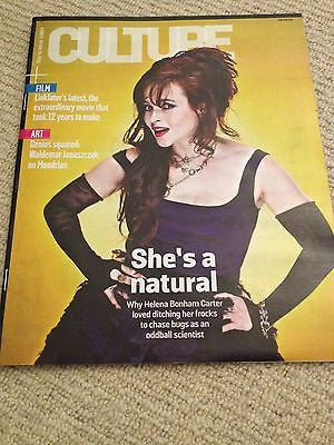 HELENA BONHAM CARTER Photo Cover Interview June 2014 Kevin Spacey First Aid Kit