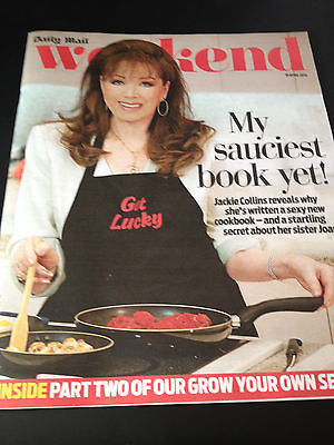 JACKIE COLLINS PHOTO Interview 2014 Jessica Findlay Brown Henry Thomas Joan