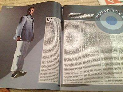 MARTIN FREEMAN interview ALLEN LEECH UK 1 DAY ISSUE NEW GREEN DAY NORAH JONES