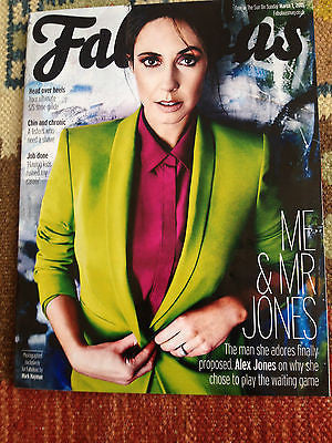 FABULOUS MAGAZINE MARCH 1 2015 ALEX JONES JARED LETO TOM HARDY JAMIE DORNAN