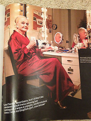 WEEKEND MAGAZINE 2015 SUSAN SARANDON JULIETTE BINOCHE ANGELA LANSBURY NICK PARK