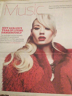 Iggy Azalea photo cover interview 2014 Parquet Courts Black Francis Don Johnson