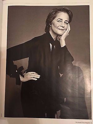 Sunday Times Magazine March 2017 Charlotte Rampling Hunter Davies Alan Aldridge