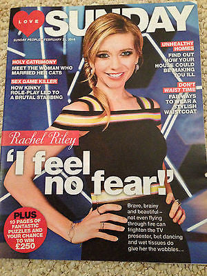SUNDAY Magazine February 2016 RACHEL RILEY PHOTO INTERVIEW