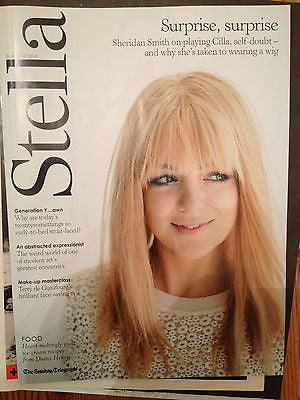 STELLA MAGAZINE AUG 2014 SHERIDAN SMITH on CILLA BLACK YAYOI KUSAMA MARIA PALM