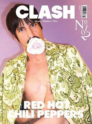 RED HOT CHILLI PEPPERS PHOTO COVER INTERVIEW UK CLASH MAGAZINE ISSUE 102 NEW