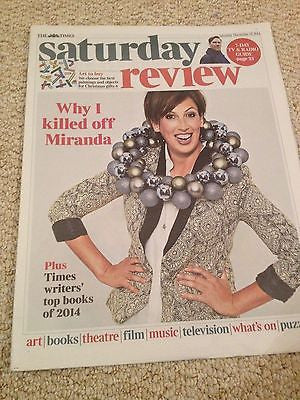 MIRANDA HART PHOTO COVER INTERVIEW TIMES REVIEW DECEMBER 2014