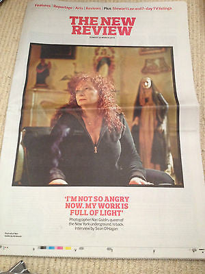 OBSERVER NEW REVIEW 2014 NAN GOLDIN MARK STRONG SIMON JONES ANGELA LANSBURY