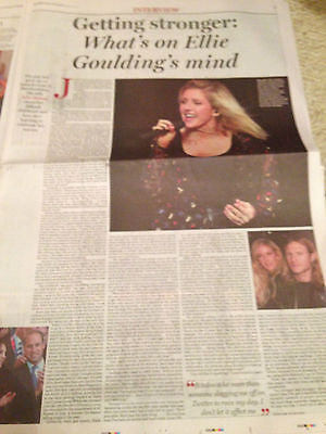 ELLIE GOULDING photo interview November 2015 DANIEL O'DONNELL