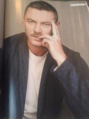 Dracula LUKE EVANS PHOTO INTERVIEW UK FILM MAGAZINE 2016 GAL GADOT ALAN RICKMAN