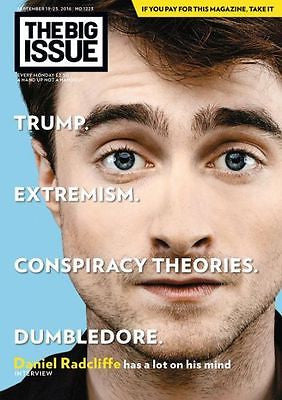UK Big Issue Magazine September 2016 Daniel Radcliffe Leanne Best