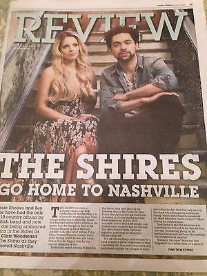 Crissie Rhodes BEN EARLE THE SHIRES PHOTO INTERVIEW EXPRESS REVIEW JUNE 2015
